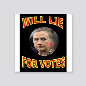 HLLARY LIES Sticker