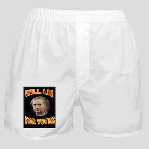 HLLARY LIES Boxer Shorts
