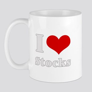 i love (heart) stocks Mug