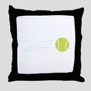 Tennis Ball Throw Pillow