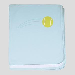 Tennis Ball baby blanket