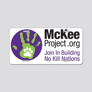 Mckee Project Aluminum License Plate