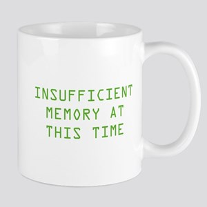 Insufficient Memory At This Time Mug