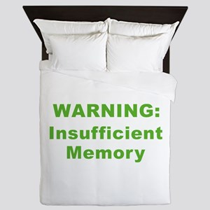 Insufficient Memory At This Time Queen Duvet