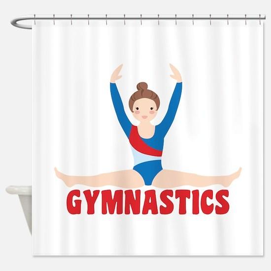 GYMNASTICS Shower Curtain