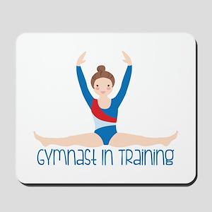 Gymnastics Training Mousepad