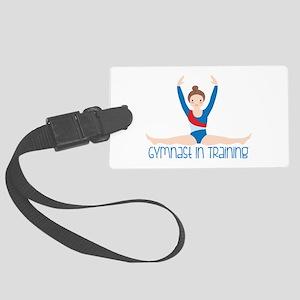 Gymnastics Training Luggage Tag