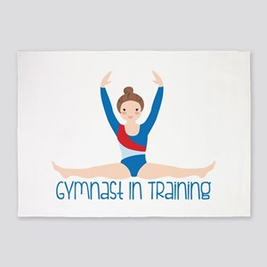 Gymnastics Training 5'x7'Area Rug