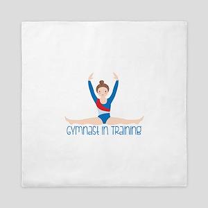 Gymnastics Training Queen Duvet