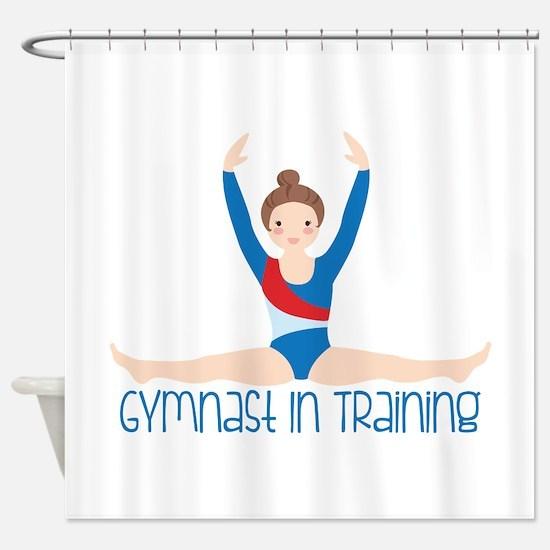 Gymnastics Training Shower Curtain