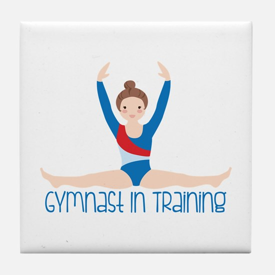 Gymnastics Training Tile Coaster