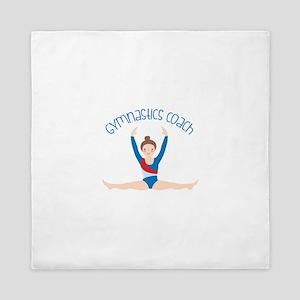 Gymnastics Coach Queen Duvet