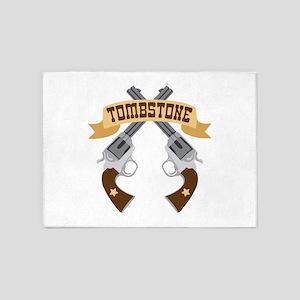 Tombstone 5'x7'Area Rug