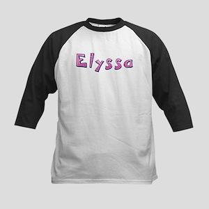 Elyssa Pink Giraffe Baseball Jersey