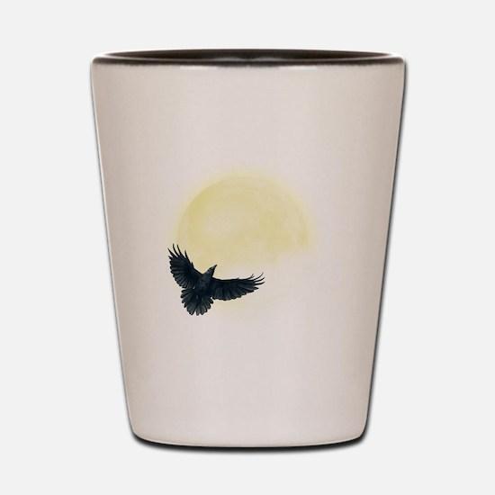Raven Moon Shot Glass