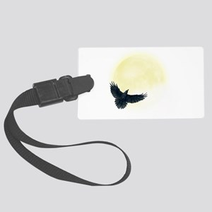 Raven Moon Luggage Tag