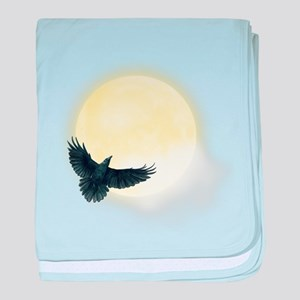 Raven Moon baby blanket