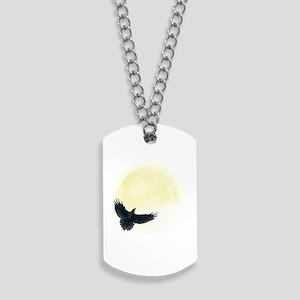 Raven Moon Dog Tags
