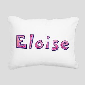 Eloise Pink Giraffe Rectangular Canvas Pillow
