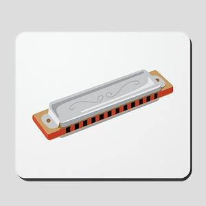 Harmonica Musical Instrument Mousepad