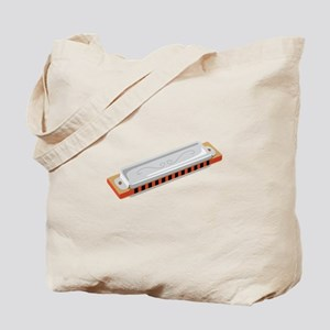 Harmonica Musical Instrument Tote Bag