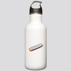 Harmonica Musical Instrument Water Bottle