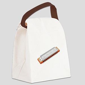 Harmonica Canvas Lunch Bag