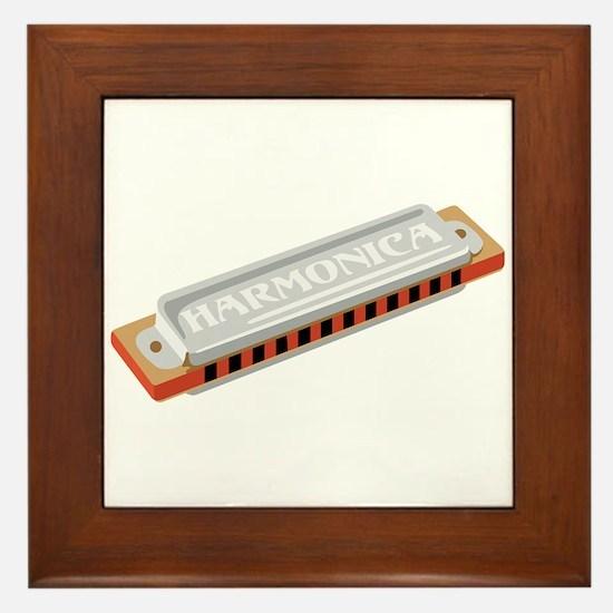 Harmonica Framed Tile