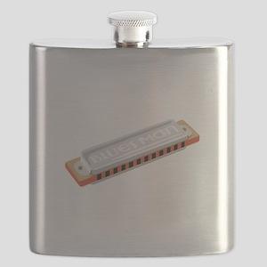 Blues Man Flask