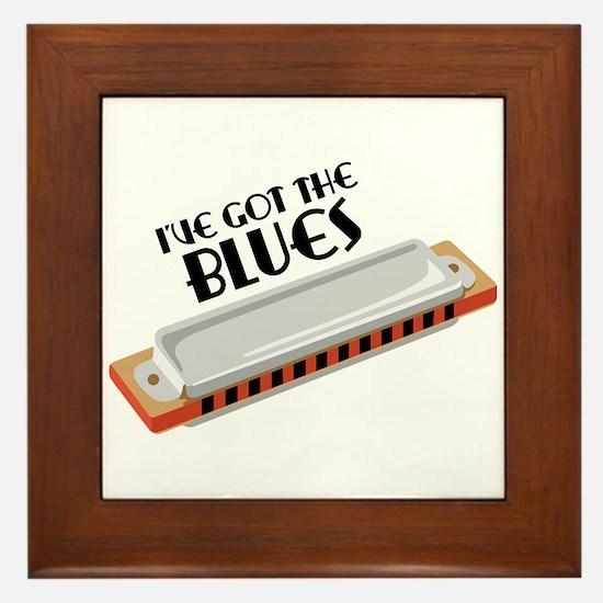Ive Got The Blues Framed Tile