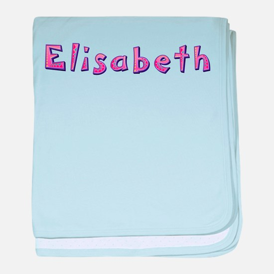 Elisabeth Pink Giraffe baby blanket