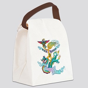 WILD WOMAN - LOVE YOURSELF FREE Canvas Lunch Bag