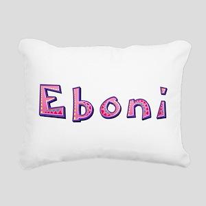 Eboni Pink Giraffe Rectangular Canvas Pillow