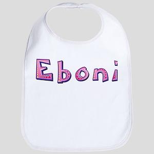Eboni Pink Giraffe Bib