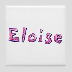 Eloise Pink Giraffe Tile Coaster