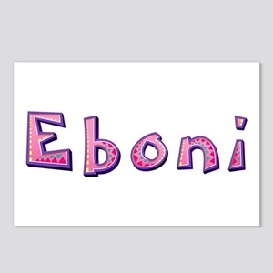Eboni Pink Giraffe Postcards 8 Pack