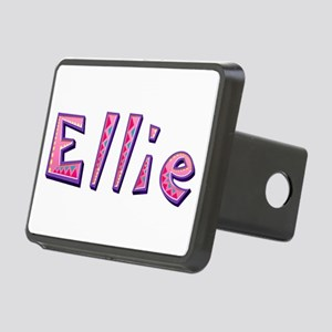 Ellie Pink Giraffe Rectangular Hitch Cover