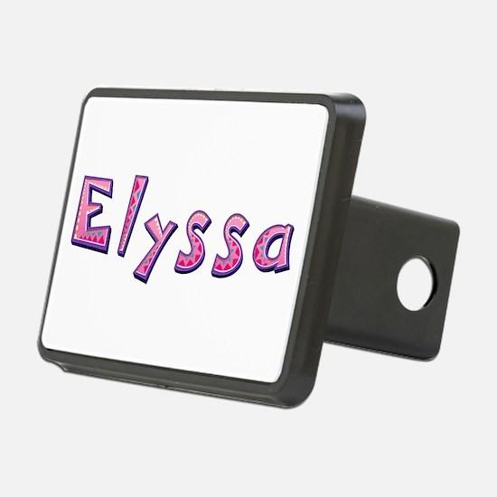 Elyssa Pink Giraffe Hitch Cover