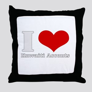 I love herat Kuwaiti accents  Throw Pillow