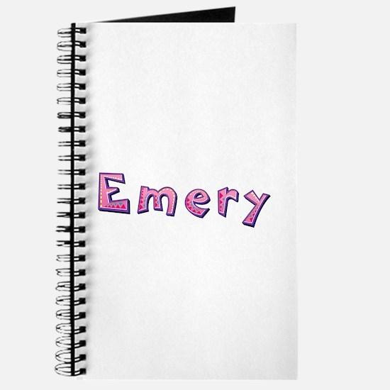 Emery Pink Giraffe Journal