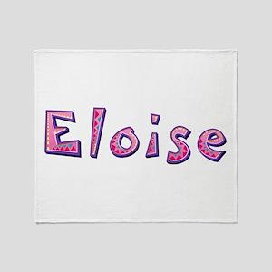 Eloise Pink Giraffe Throw Blanket