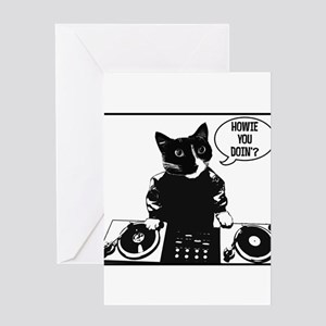 DJ Howie Cat: Howie You Doin? Greeting Cards