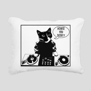 DJ Howie Cat: Howie You Doin? Rectangular Canvas P