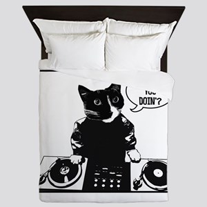 DJ Howie Cat: Howie You Doin? Queen Duvet