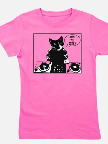 DJ Howie Cat: Howie You Doin? Girl's Tee