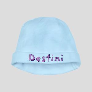 Destini Pink Giraffe baby hat