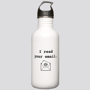 I Read Your Email. Stainless Water Bottle 1.0L