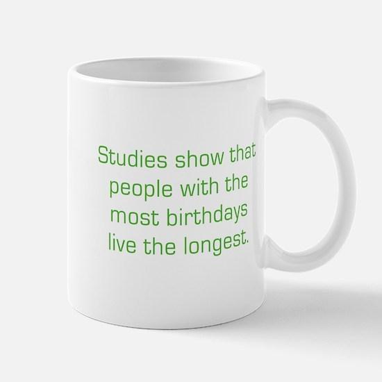 Most Birthdays Mug