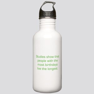 Most Birthdays Stainless Water Bottle 1.0L