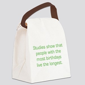 Most Birthdays Canvas Lunch Bag